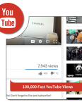 100k fast youtube views