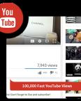 100k fast youtube views