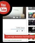 1k HR youtube views