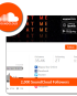 Buy 2,000 SoundCloud Followers
