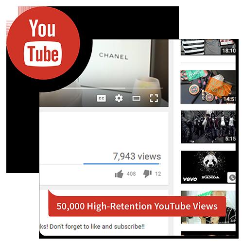 50k hr youtube views