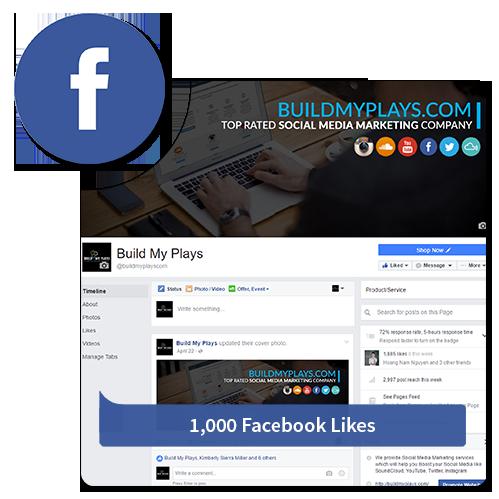 1000 Likes - Facebook