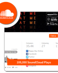 100k play - Soundcloud