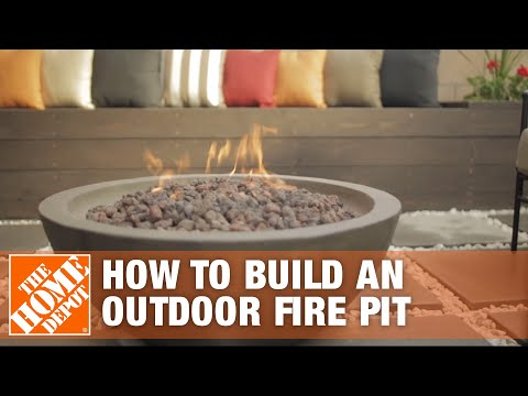 How To Build a Fire Pit Patio I Patio Style Challenge | The Home Depot