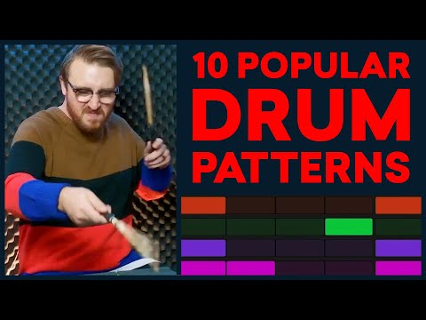 10 Popular Drum Patterns Every Producer Should Know