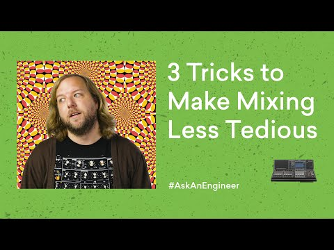 How to Mix Efficiently: 3 Tricks to Clear Your Mixing Workflow | LANDR AskAnEngineer