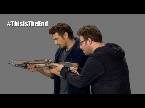 This Is The End - Seth & James Get a Crossbow