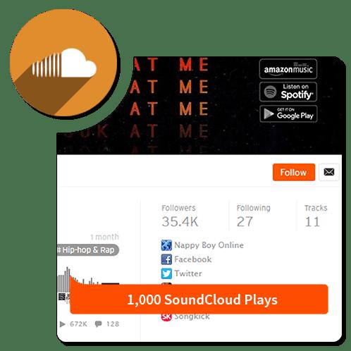 1k-play-Soundcloud