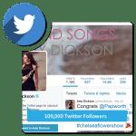 Buy 100,000 Twitter Followers