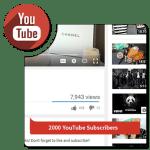Buy 2,000 YouTube Subscribers