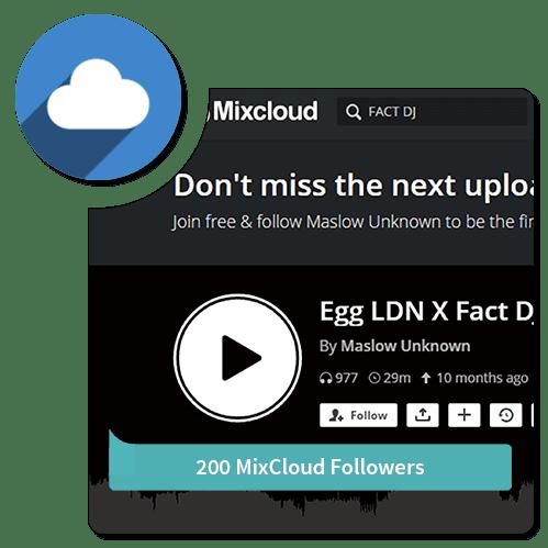 200-Follower-Mixcloud