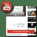 Buy 300 YouTube Subscribers