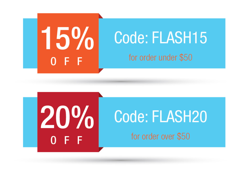 Flash sale 20%