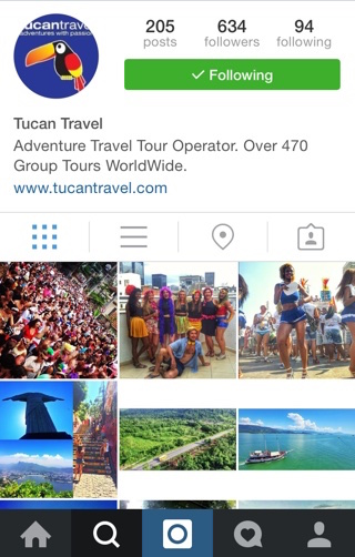 Travel Agency Social media