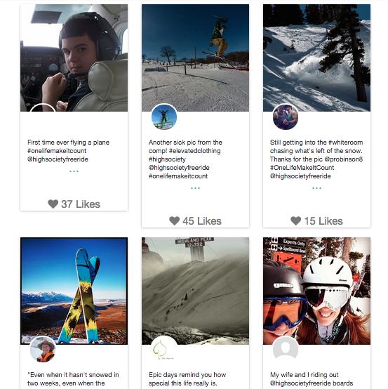 Instagram Hashtag Contests