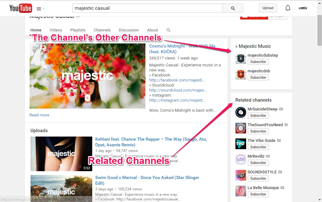 Youtube-Channels