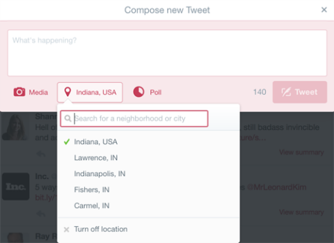 how to find my twitter link