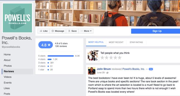 zk-powells-books-facebook-reviews