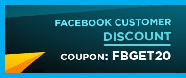 Facebook customer discount 1-2 1
