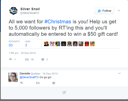 social media holiday marketing campaign