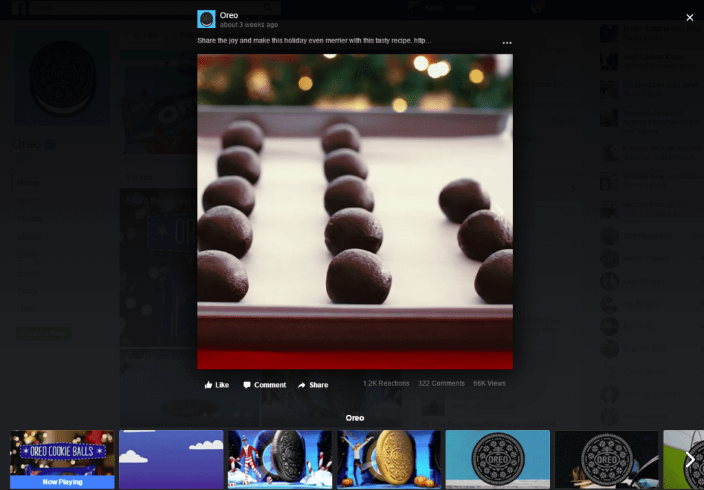 Oreo-video-marketing-on-Facebook