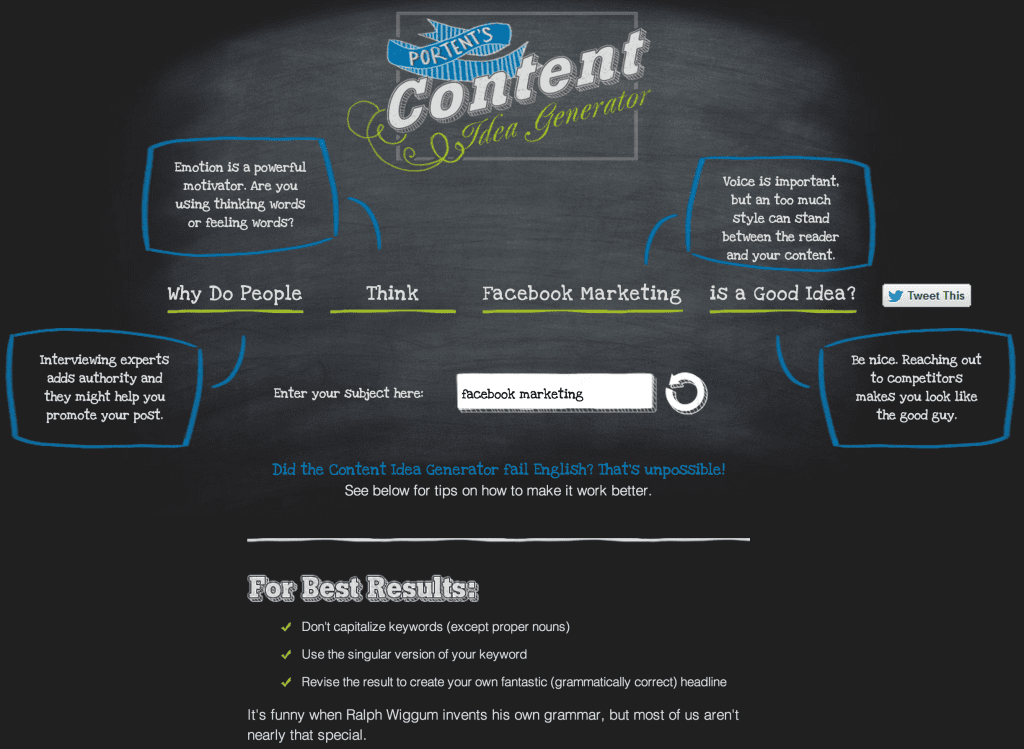 Tools For Content Authors