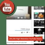 Buy 200,000 HR YouTube Views