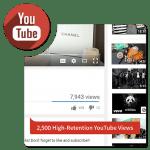 Buy 2500 HR YouTube Views