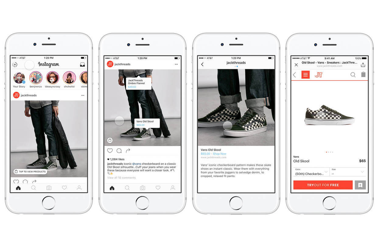 sell more products with Instagram shopping