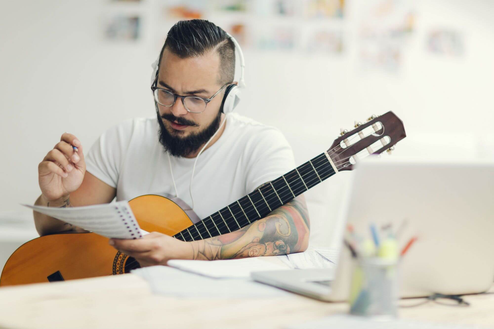 Arrange Chords in Your Songwriting