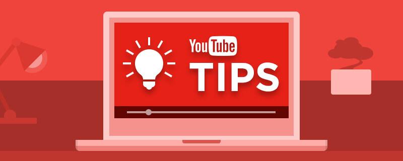 beginner youtube tips