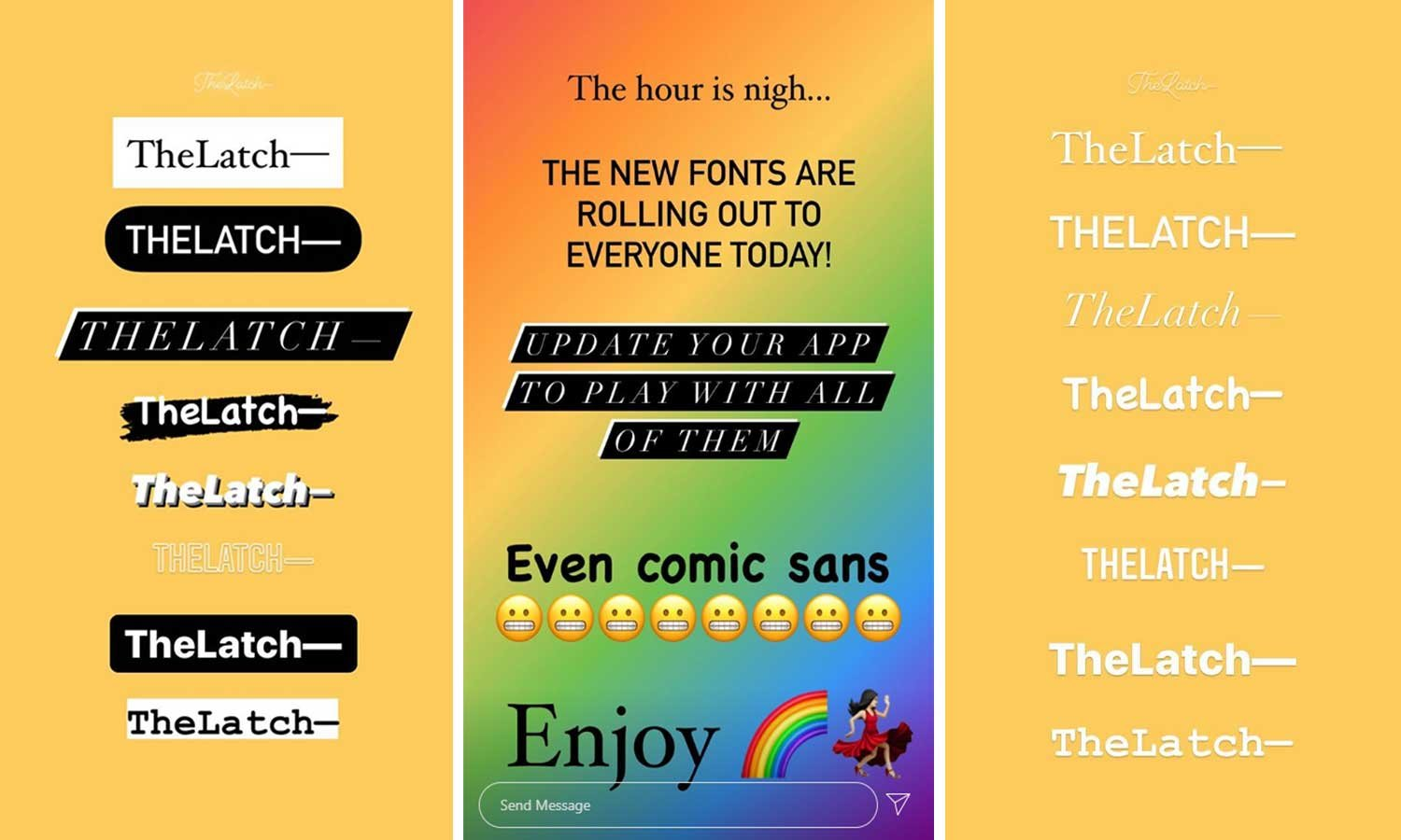 customize Instagram fonts
