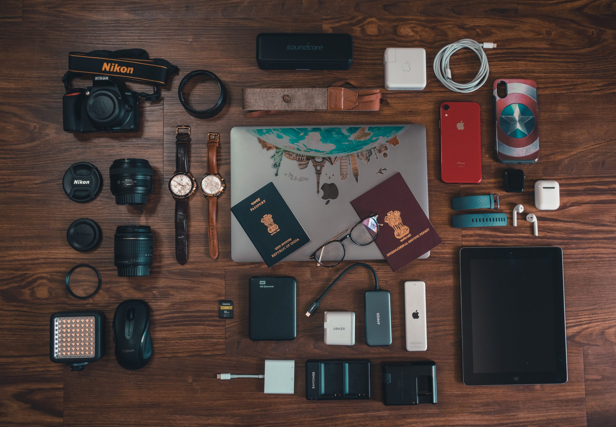 Packing List Traveling to Europe